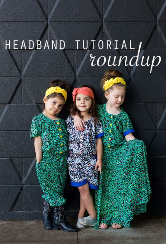 Headband Tutorial Roundup
