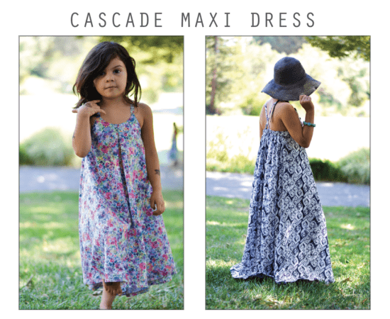 Cascade Maxi Dress Cover