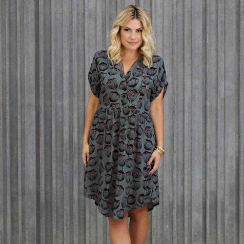 Fringe Dress - Chalk and Notch Patterns
