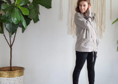 Joy Jacket - Chalk and Notch Patterns