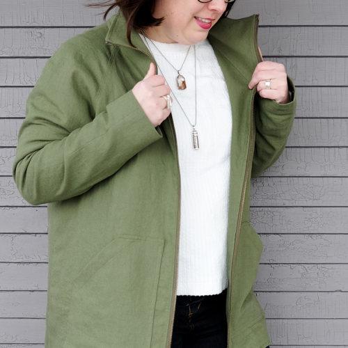 Chalk and Notch - Joy Jacket PDF sewing pattern