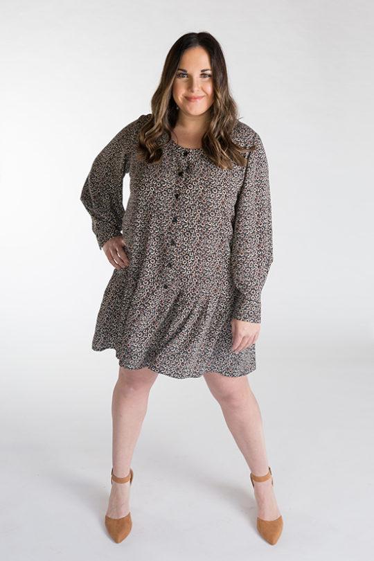 Chalk and Notch Wren Blouse and Dress Pattern